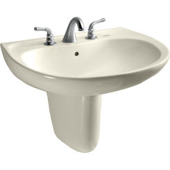 Click here to see Toto LHT242.4G#12 Toto LHT242.4G#12 Prominence 26 x 22 Sedona Beige Lavatory Sink and Shroud