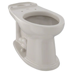 Click here to see Toto C754EF#03 TOTO Dartmouth and WhitneyUniversal Height Elongated Toilet Bowl, Bone - C754EF#03