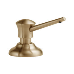 Click here to see Delta RP1002CZ Delta RP1002CZ Champagne Bronze Soap and Lotion Dispenser