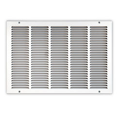 Click here to see Shoemaker 1050-16X14 16x14 Soft White Return Air Grille (Stamped from Cold Roll Steel) - Shoemaker 1050