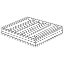 Click here to see Shoemaker 0BD-4X8 4X8 Opposed Blade Damper (Aluminum)-Shoemaker OBD Series