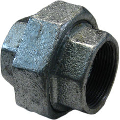 Click here to see Commodity  GALU112 Galvanized Union, 1-1/2 Inch
