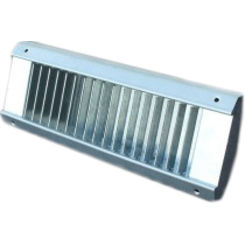Click here to see Shoemaker USR52-12X3 12X3  White Vent Cover (Galvanized Steel)-Shoemaker USR52 Series