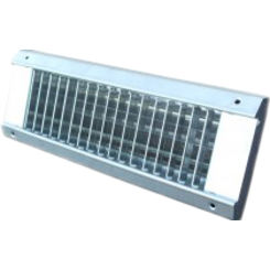 Click here to see Shoemaker USR34-SC-10X6 10X6 White Vent Cover (Galvanized Steel)-Shoemaker USR34-SC Series