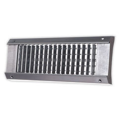 Click here to see Shoemaker USR34-0-10X3 10X3 White Vent Cover (Galvanized Steel)-Shoemaker USR34-0 Series