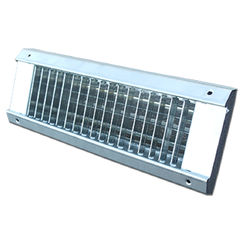 Click here to see Shoemaker USR34-0-18X3 18X3 White Vent Cover (Galvanized Steel)-Shoemaker USR34-0 Series