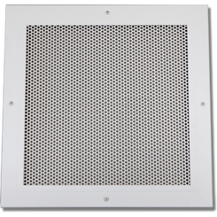 Click here to see Shoemaker 600P0-14X36 14x36 Soft White Perforated Return Air Grille (Aluminum) Opposed Blade Damper - Shoemaker 600P-0