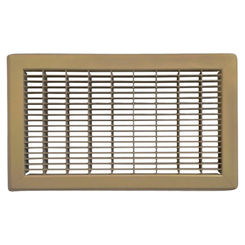 Click here to see Shoemaker 1600-R-18X34 18x34 Driftwood Tan Vent Cover (Steel Honeycomb Construction) - Shoemaker 1600R
