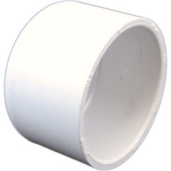 Click here to see Commodity  PVCCAP2 Schedule 40 PVC Slip Cap, 2 Inch