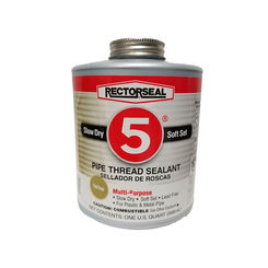 Click here to see Rectorseal 25300 GLURECTORSEAL1QT 25300 RECTORSEAL #5 THREAD SEALANT 1 QUAR