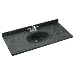 Click here to see Swanstone CH02261.071 Swanstone CH1B2261-071 Chesapeake Indian Grass Vanity Top