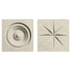Click here to see Swanstone TC00404.072 Swanstone TC-0404TR-072 Pebble Rosettes For Swanstone Panels - 2