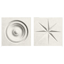Click here to see Swanstone TC00404.121 Swanstone TC-0404TR-121 Glacier Rosettes For Swanstone Panels - 2