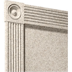 Click here to see Swanstone TC06072TR.046 Swanstone TC-6072TR-046 Almond Galaxy Trim Kit For 60