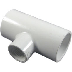 Click here to see Commodity  Schedule 40 PVC 1 x 1 x 1/2 Inch Tee