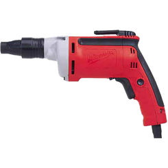 Click here to see Milwaukee 6790-20 Milwaukee 6790-20 General Purpose Self Drill Corded Screwdriver, 120 VAC, 6.5 A, 0.9 hp, 1/4 in