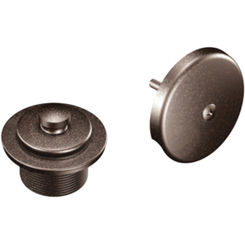 Click here to see Moen T90331ORB Moen T90331orb Accessory Push Lock Waste And Overflow Trim Oil Rubbed Bronze