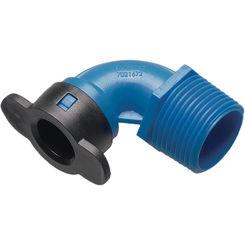 Click here to see Hydro-Rain BL410-007 Hydro-Rain BL410-007 1/2 inch Blu-Lock x 3/4 inch Mipt Ell