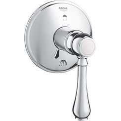 Click here to see Grohe 19220000 GROHE 19220000 Geneva 2-Way Diverter Trim - Chrome