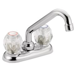 Click here to see Moen 4975 Moen 4975 Two Handle Low Arc Laundry Faucet