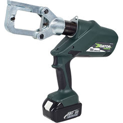 Click here to see Greenlee ECCXL230 Greenlee ECCXL230 Battery-Powered Gator-Pro Crimp Tool (6-Ton)(230V AC Adapter)