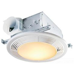 Click here to see Broan 8664RP Brona-NuTone 8664RP 100 CFM Decorative Fan/Light