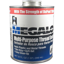 Click here to see Oatey  1 Quart Megaloc Thread Sealant