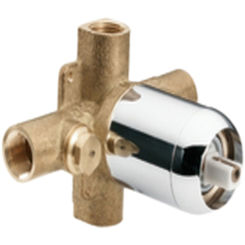 Click here to see Cleveland Faucet 45312 Moen CFG 45312 Pressure Balancing Rough In Valve Chrome