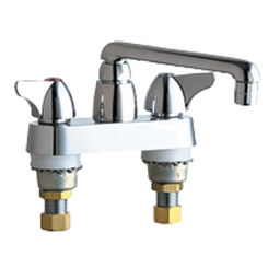 Click here to see Chicago Faucet 1891-XKABCP Chicago Faucets 1891-XKABCP Hot and Cold Sink Faucet