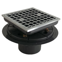 Click here to see Kohler 9136-G Kohler K-9136-G Brushed Chrome Tile-In Square Shower Drain