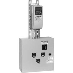 Click here to see Honeywell NXBJ0600CS30000000 Honeywell NXBJ0600CS30000000 60HP NXS VFD, 2 Contactor Cool Blue Bypass Variable Frequency Drive