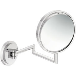 Click here to see Moen YB0892CH Moen YB0892CH Arris Magnifying Mirror, Chrome