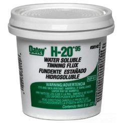 Click here to see Oatey 30142 Oatey 30142 H-2095 8-Ounce Water Soluble Tinning Paste Flux,Greenish-Gray