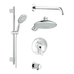 Click here to see Grohe 35052000 Grohe 35052000 GrohFlex Shower Set - StarLight Chrome