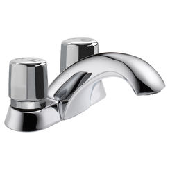 Click here to see Delta 2507LF-HDF Delta 2507LF-HDF Polished Chrome 2-Handle Self-Closing Faucet