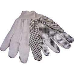Click here to see Seattle Glove C8608PD Men's Black Dots Canvas Gloves 8 oz