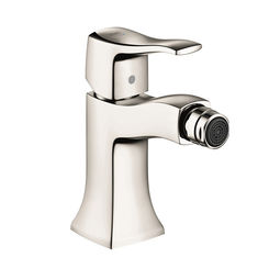 Click here to see Hansgrohe 31275831 Hansgrohe 31275831 Metris C One Hole Bidet Faucet, Polished Nickel