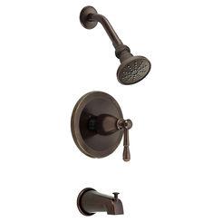 Click here to see Danze D500015BRT Danze D500015BRT Tumbled Bronze Eastham Tub/Shower Trim