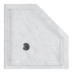 Click here to see Swanstone SN00036MD.131 Swanstone SS-36NEO-131 Neo-Angle Shower Floor, 36