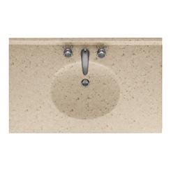 Click here to see Swanstone VT02225.040 Swanstone VT1B2225-040 Ellipse Vanity Top, 25