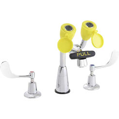 Click here to see Speakman SEF-1800-CA Speakman Sef-1800-Ca Eyesaver Chrome / Yellow Eye Wash/Faucet Combination