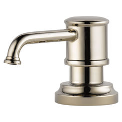 Click here to see Brizo RP75675PN Brizo RP75675-PN Polished Nickel Artesso Soap/Lotion Dispenser