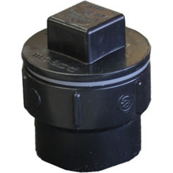 Click here to see Commodity  1-1/2 Inch ABS Cleanout Adapter, ABS Construction
