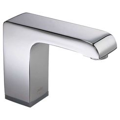 Click here to see Delta 600T050-SS Delta 600T050-SS Stainless Hands Free Commercial Bathroom Faucet