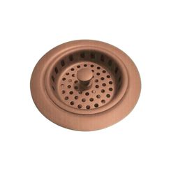 Click here to see Brasstech 121/08A Brasstech 121/08A Antique Copper Basket Strainer