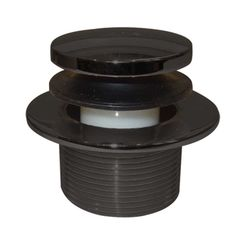 Click here to see Brasstech 274/56 Brasstech 274/56 Flat Black Toe Touch Tub Drain And Plate