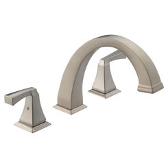 Click here to see Delta T2751-SS Delta T2751-SS Dryden Roman Tub Trim - Stainless