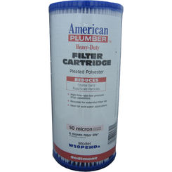 Click here to see American Plumber W50PEHD American Plumber W50PEHD 155053-51 50 Micron Filter