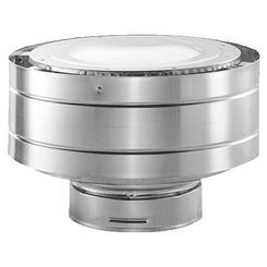 Click here to see M&G DuraVent 58DVA-VC-S M&G DuraVent DirectVent Pro 5x8 Low Profile Termination Cap - Stainless Steel - 58DVA-VC-S