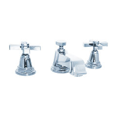Click here to see Kohler 13132-3A-CP Kohler K-13132-3A-CP Pinstripe Polished Chrome Widespread Bathroom Faucet